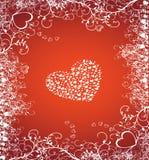 Coração do Valentim Fotografia de Stock Royalty Free