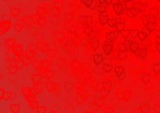 Coração do Valentim Foto de Stock