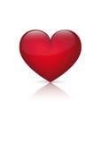 Coração do vetor Fotografia de Stock Royalty Free