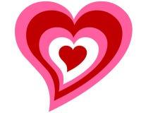 Coração do vetor Foto de Stock Royalty Free
