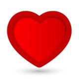 Coração do vetor. Fotografia de Stock