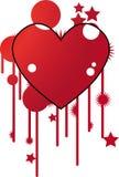 Coração do vetor Imagens de Stock