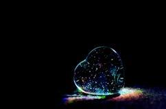 Coração do vidro Imagem de Stock Royalty Free
