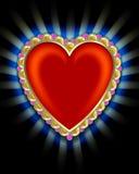 Coração do vintage Imagens de Stock Royalty Free