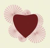 Coração do vintage Foto de Stock Royalty Free