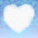 Coração do volume Fotografia de Stock