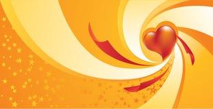 Coração do Whirlpool Fotos de Stock