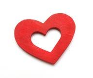Coração dobro Fotografia de Stock