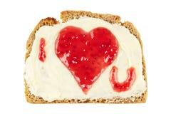 Coração doce do doce Fotos de Stock