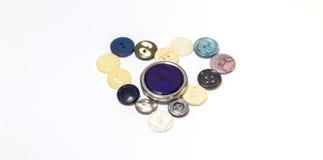 Coração dos botões Fotografia de Stock
