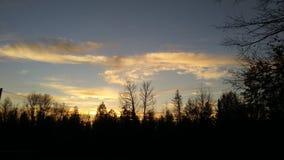 Coração dos céus Foto de Stock Royalty Free