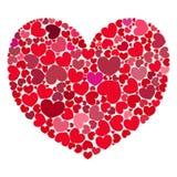 Coração dos corações Imagens de Stock