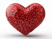 Coração dos corações Fotografia de Stock