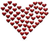 Coração dos corações ilustração royalty free