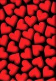Coração dos corações Fotos de Stock Royalty Free