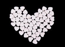 Coração dos corações pequenos Foto de Stock Royalty Free