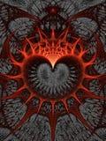 Coração dos espinhos Foto de Stock Royalty Free