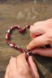 Coração dos feijões Imagem de Stock Royalty Free