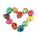 Coração dos ovos de Easter Imagens de Stock Royalty Free