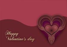 Coração dos Valentim Imagem de Stock Royalty Free