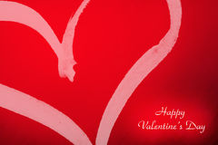 Coração dos Valentim Fotografia de Stock