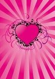 Coração dos Valentim ilustração do vetor