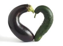 Coração dos vegetais imagem de stock royalty free