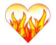 Coração e paixão Imagem de Stock
