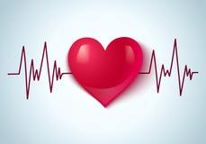 Coração e pulso Foto de Stock Royalty Free