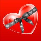 Coração-em ilustração royalty free
