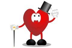 Coração esperto Foto de Stock