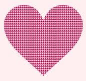 Coração estilizado Hearted Fotos de Stock Royalty Free
