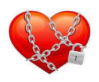 Coração fechado Imagens de Stock Royalty Free