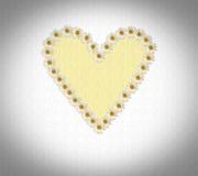 Coração feito das margaridas Imagem de Stock