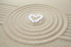 Coração feito das pedras Foto de Stock