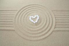 Coração feito das pedras Imagem de Stock