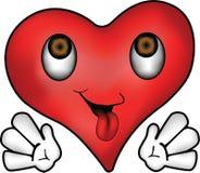 Coração feliz Imagem de Stock Royalty Free