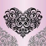 Coração-forma Fotos de Stock