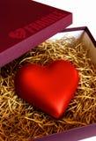 Coração frágil imagem de stock