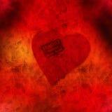 Coração frágil Fotografia de Stock Royalty Free