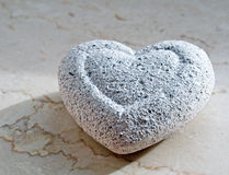 Coração frio Foto de Stock