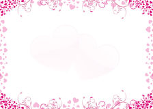 Coração froal Imagem de Stock Royalty Free