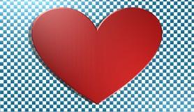 Coração, fundo, ilustração 3D, Imagem de Stock