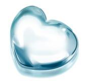 Coração gelado Fotos de Stock
