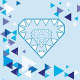 Coração gelado Imagem de Stock Royalty Free