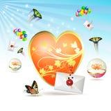 Coração grande Fotos de Stock