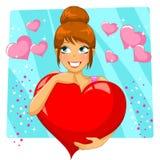 Coração grande Fotografia de Stock Royalty Free