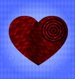 Coração grande ilustração royalty free