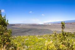Coração grande do kilawea de Havaí da ilha do volcan fotografia de stock royalty free