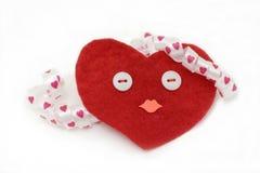 Coração Handmade Fotografia de Stock